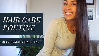 HAIR CARE ROUTINE FOR LONG HEALTHY HAIR   Lauren Kubiske