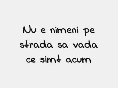 Spin - Nu e nimeni pe drum with lyrics (versuri)