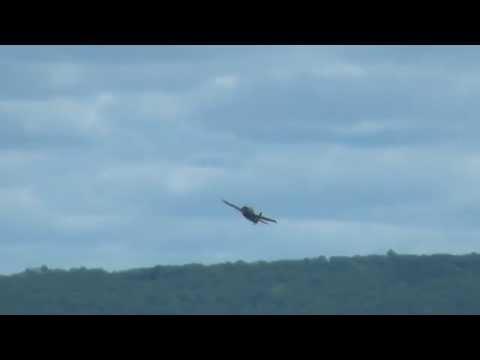 Avião de Caça Embarcado F4F Wildcat Sobrevivente da Guerra no Pacífico