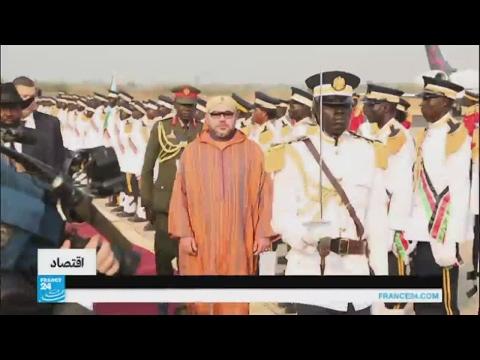أول زيارة للعاهل المغربي إلى جنوب السودان