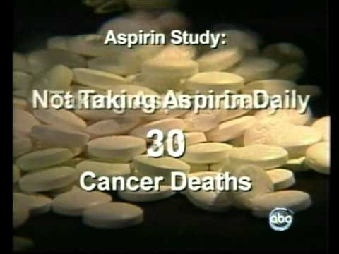 One Aspirin A Day Can Reduce Cancer Death Rate