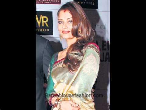 Aishwarya Rai Saree Blouse Designs video