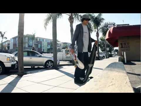 Gravity Skateboards - Bobby Dahl cruising, street and park skating
