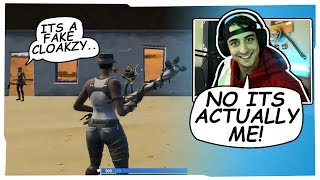 CLOAKZY JOINS RANDOM PLAYGROUND GAME USING RECON EXPERT SKIN AND SHOCKS EVERYONE!