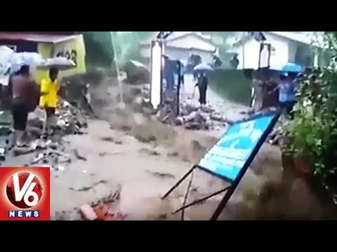 Heavy Rain Hits Himachal, Uttarakhand, Foothills Of Uttar Pradesh | Weather Report | V6 News