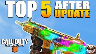 Top 5 Best Guns & Perks Right Now in CoD BO4 After the 1.11 Update