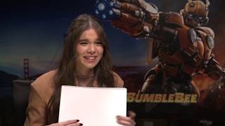 Sketching with Hailee Steinfeld