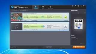 Convert MP4 or WMA to MP3 in a Few Clicks
