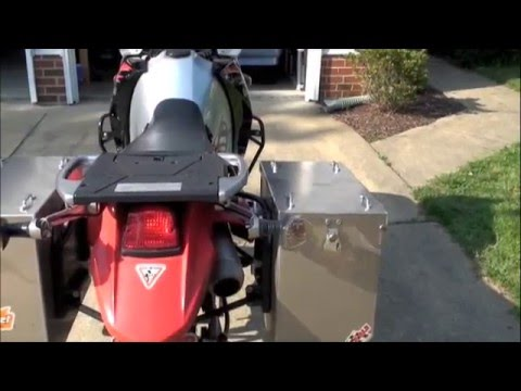 KLR 650 10.000 mile update. part two