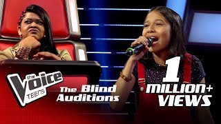 Ishitha Premnath | Faded | Blind Auditions | The Voice Teens Sri Lanka