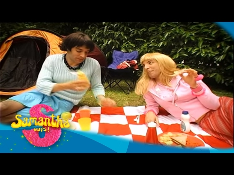 Samantha oups samantha et les joies du camping youtube - Samantha oups sur le banc ...