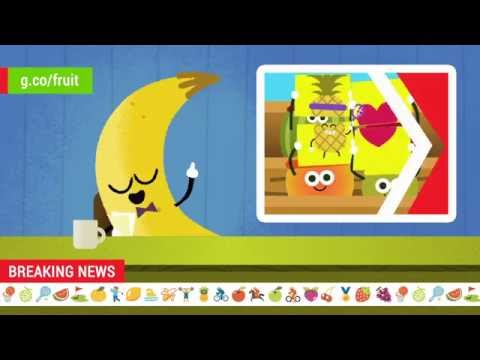 2016 Doodle Fruit Games: Pineapple Tennis Newscast