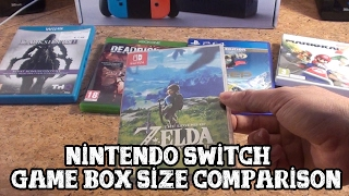[Nintendo Switch] Game Box size comparison