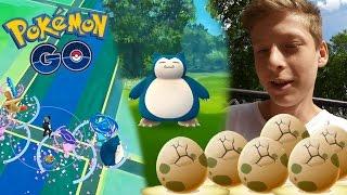 Relaxo fangen & Eier öffnen / Neue Pokemon fangen! • Pokemon GO deutsch