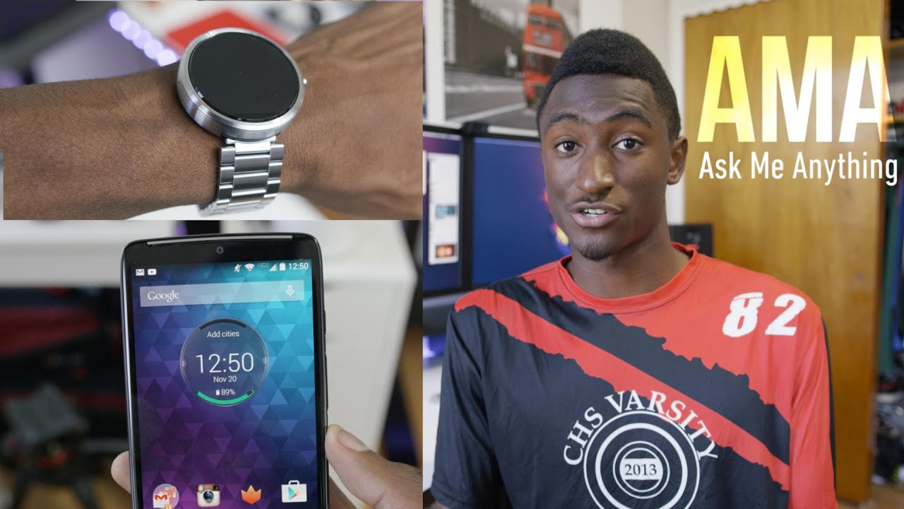 Marques Brownlee Visual RSS Feed