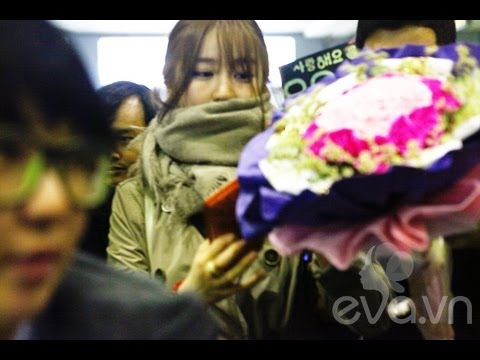 Yoon Eun Hye ��� at Noi Bai International Airport, Hanoi, Vietnam 2013.04.24