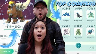 SHINY ENTEI RAID DAY TOP 5 PRO TIPS & *TOP 5 BEST* COUNTERS IN POKEMON GO