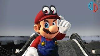 Yuzu Nintendo Switch Emulator - Super Mario Odyssey Intro Gameplay (Canary #1454)