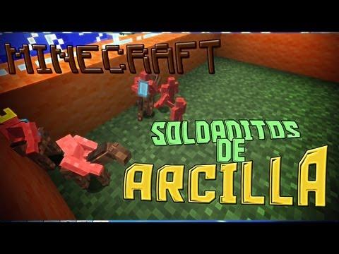 Mini-Soldados de Arcilla!! - MINECRAFT Mods Serie + LINK DE DESCARGA