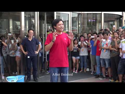 Lei Jun takes the #IceBucketChallenge!