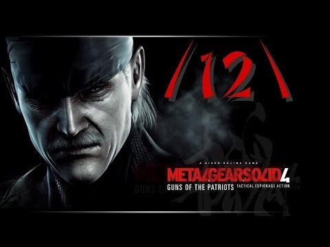 [LP] Metal Gear Solid 4 - Guns of the Patriots ~12~ (Ein fast schon toter Mann)