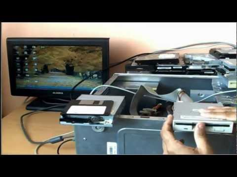 Como instalar configurar y usar una Disquetera (Floppy disk) bien Explicado