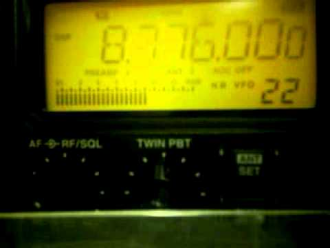 Olimpia Radio, 8776 kHz SSB, Cyprus or Greece, 31/03/2014