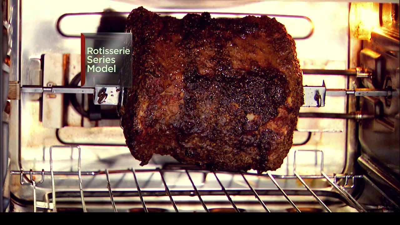 Wolfgang Puck Pressure Oven Rotisserie Series Youtube