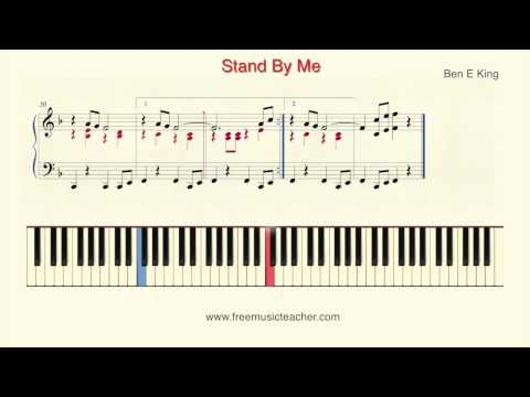 "How To Play Piano: Ben E King ""Stand By Me"" Piano Tutorial by Ramin Yousefi"