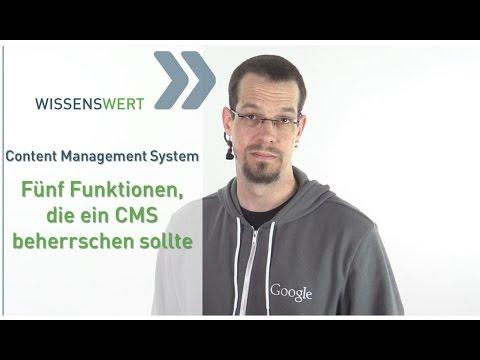 Content Management System: 5 Dinge, die ein CMS können sollte | FAIRRANK TV - Wissenswert