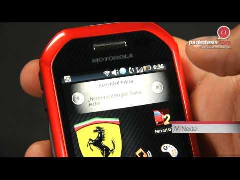Motorola i867 Edición Especial Ferrari