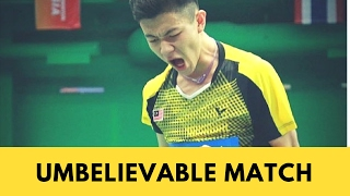 UNBELIEVABLE match-Lee Zii Jia vs K Wangcharoen