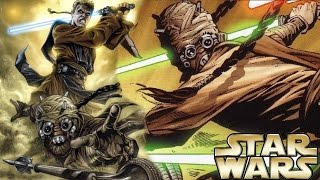 How Anakin Tried to Kill a Tusken Raider Jedi Master - Star Wars Explained