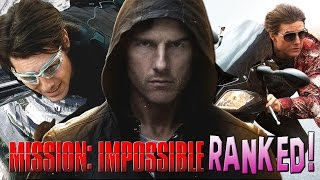 5 Mission Impossible Movies Ranked