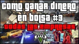 GTA V - Como ganar dinero en bolsa #3 - Todas las empresas y sus enemigas GTA 5 - localizaciones