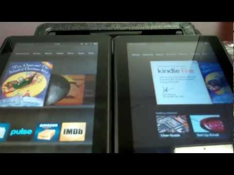 Kindle Fire (Gen 2) Unboxing & Gen 1 Comparison