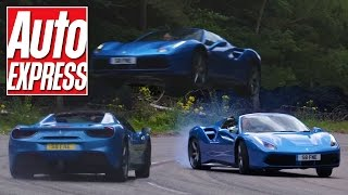Ferrari 488 Spider review: open-top opens up 660bhp V8 and flies