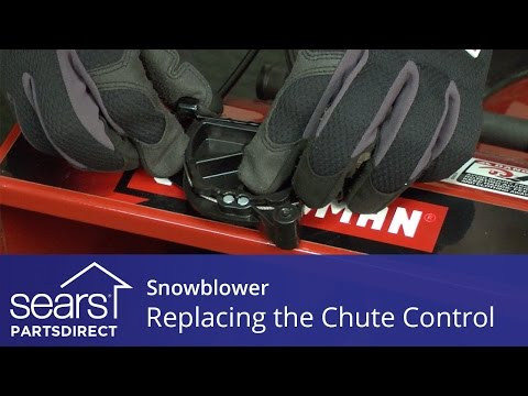 Replacing a 4-Way Chute Control Assembly on a Snowblower