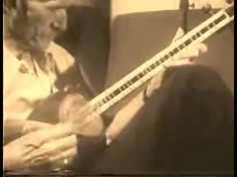 Master Hormozi Playing Persian Tar