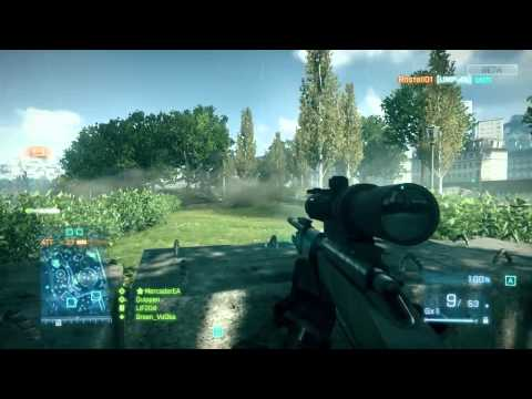 Battlefield 3 Beta - Flawless M40A5 Defense Gameplay + Fan Event Info!