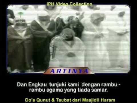 Doa Qunut dan Taubat di Masjidil Haram #1 (Terjemah Indonesia)