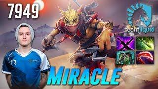 Miracle Bounty Hunter - 7949 MMR - Dota 2 Pro Gameplay