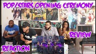 (G)I-DLE | K/DA - POP/STARS (ft Madison Beer) | Worlds 2018 Opening Ceremony REACTION