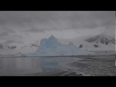 Exploding iceberg in Antarctica!