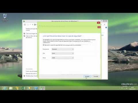 Como hacer copia de seguridad y restaurar archivos en Windows 8