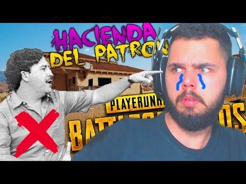 ¡REVIENTO HACIENDA DEL PATRON! *PABLO ESCOBAR* | PLAYERUNKNOWN'S BATTLEGROUNDS (PUBG)