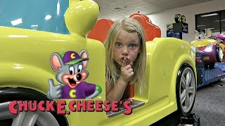 BEST HIDE AND SEEK SPOT AT CHUCK E CHEESE!