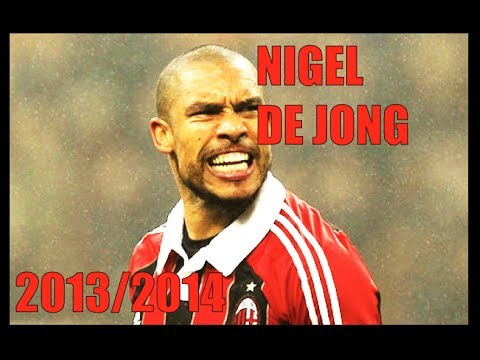 Nigel de Jong | AC Milan | 2013-2014 | The Wall
