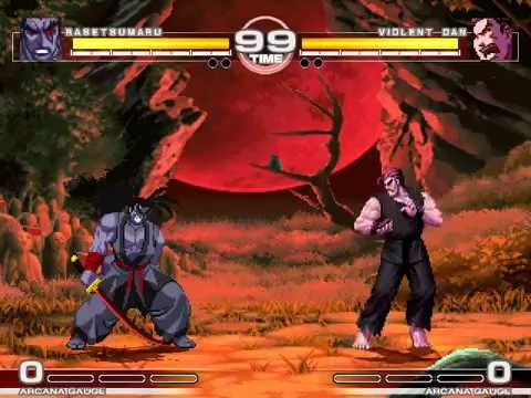 MUGEN : Absolute Power 5 Rasetsumaru vs Violent Dan