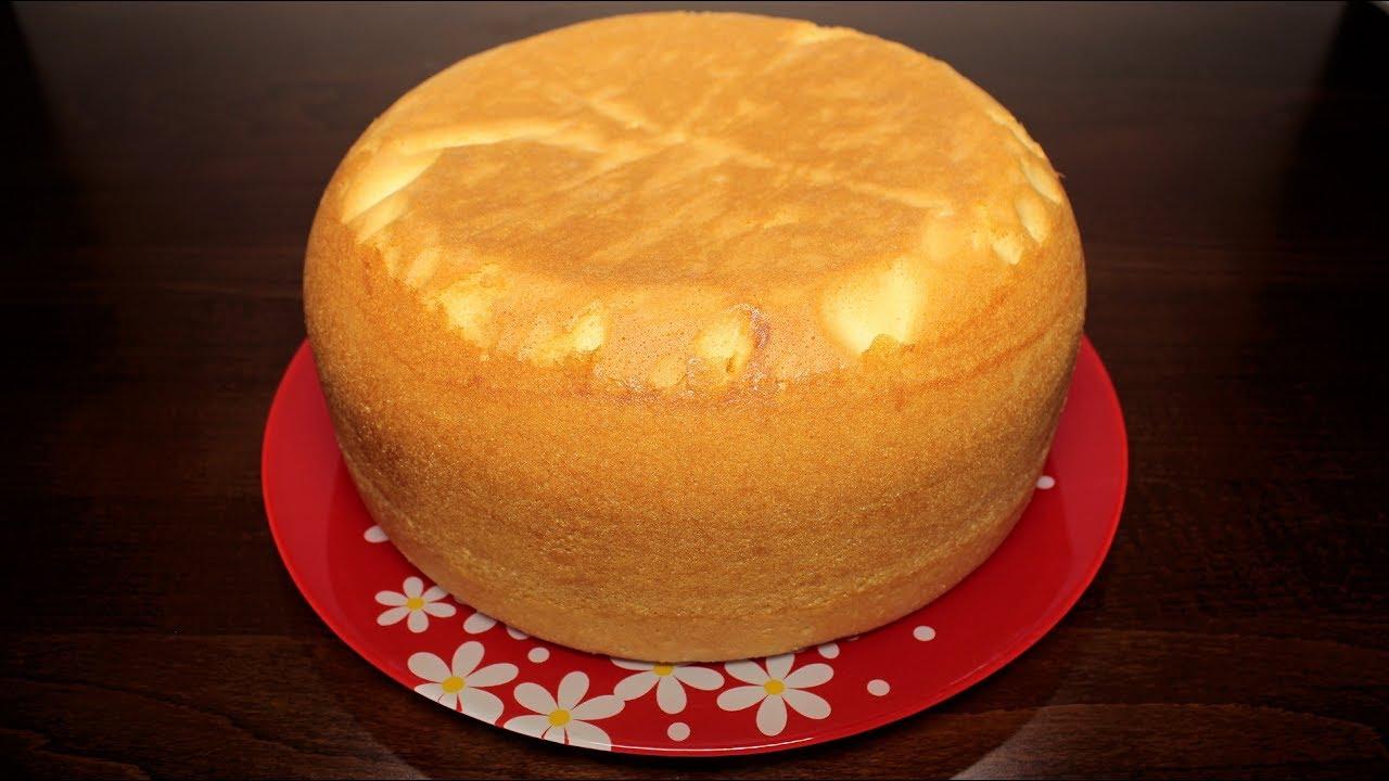 Вкусный нежный бисквит для торта рецепт с пошагово
